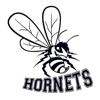 Hornets Mascot Temporary Tattoo