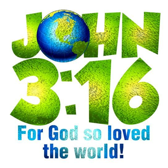 John 3:16 Metallic Temporary Tattoo
