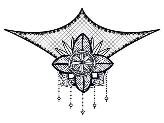 Lace Bikini Temporary Tattoo