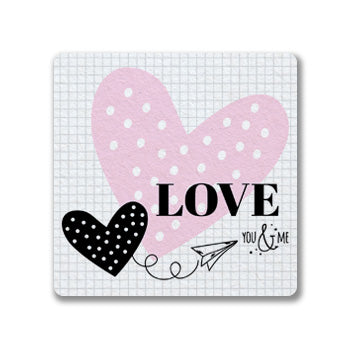 Love You and Me Coasters