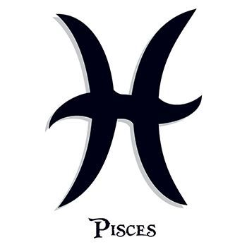 Pisces Zodiac Temporary Tattoo
