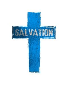 Salvation Cross Temporary Tattoo