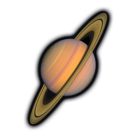 Saturn Temporary Tattoo