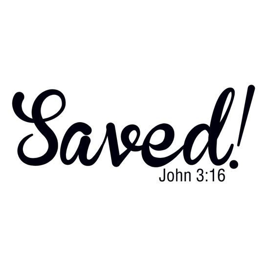 Saved John 316 Temporary Tattoo Pickatat