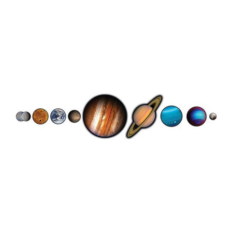 Solar System Temporary Tattoo