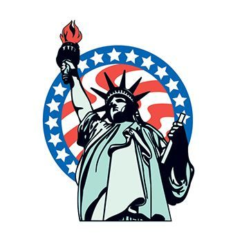 Statue of Liberty Temporary Tattoo