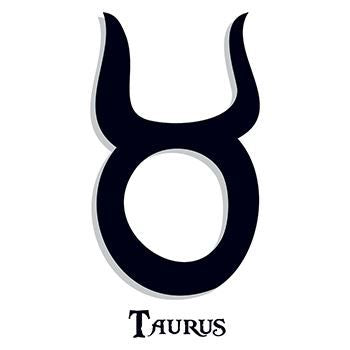 Taurus Zodiac Temporary Tattoo