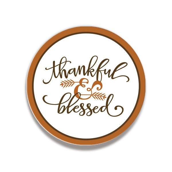 Thankful and Blessed Coasters