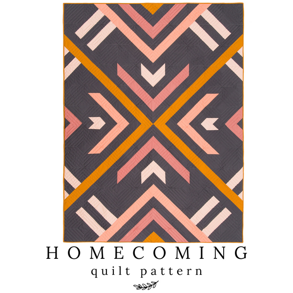Homecoming Quilt Pattern - my cover quilt