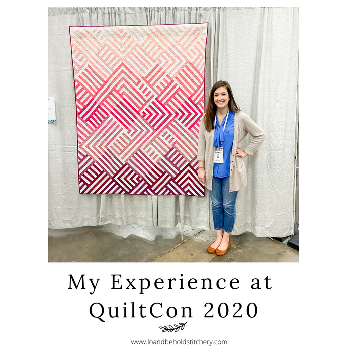 My experience at QuiltCon 2020