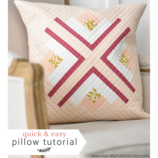 Quick & Easy Pillow Tutorial
