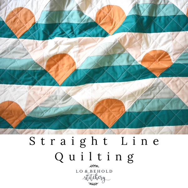 Straight-Line Quilting Tutorial