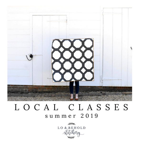 Local Classes- Summer 2019