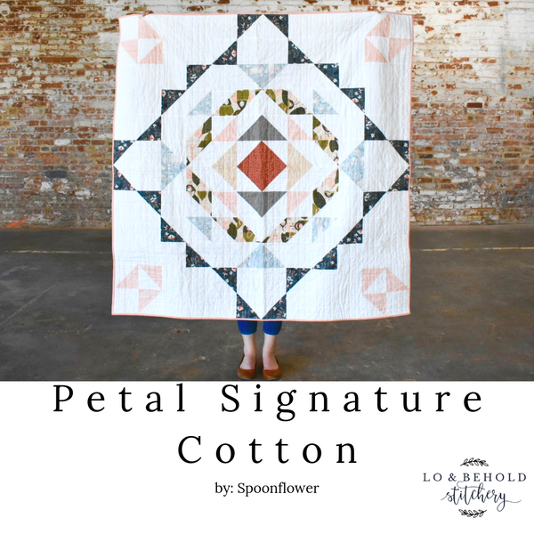 Petal Signature Cotton- by Spoonflower!