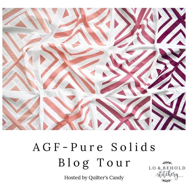 "Art Gallery Fabrics- ""Pure Solids"" Blog Tour"