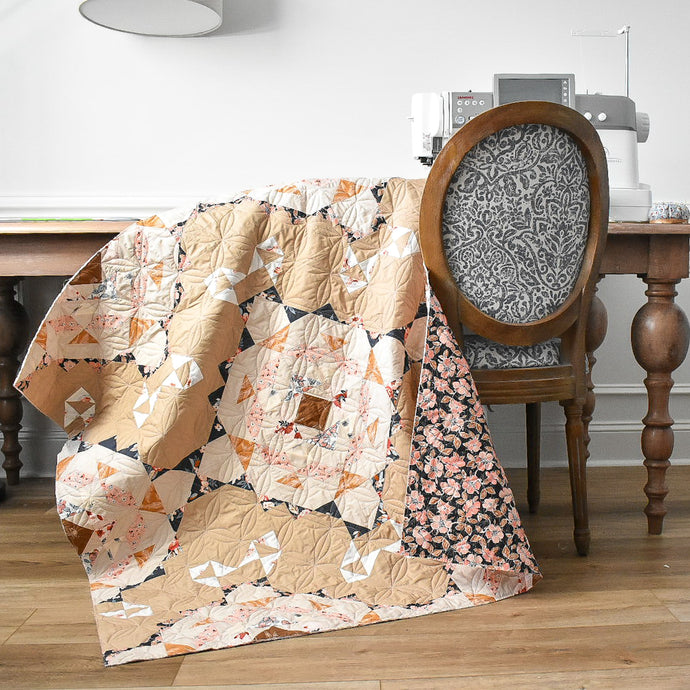 "Vintage Lace Quilt - using ""Homebody"" fabrics"