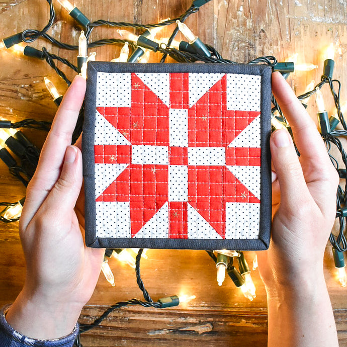 FREE Mini Christmas Joy Block Tutorial