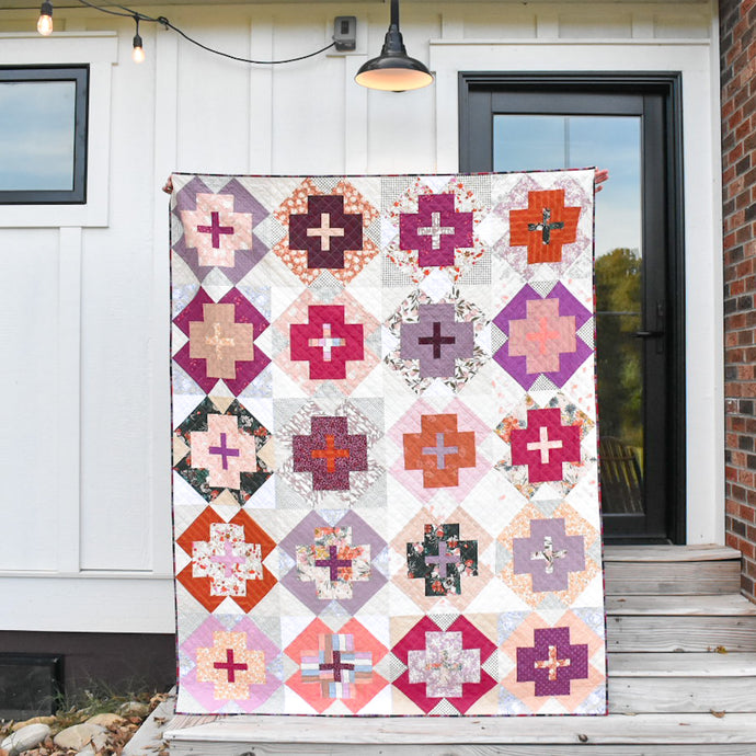 Nightingale Quilt Pattern - my Scrappy version
