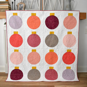 Retro Ornaments Quilt - Using Art Gallery Fabrics Pure Solids