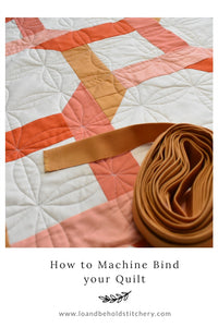How to Machine Bind your Quilt