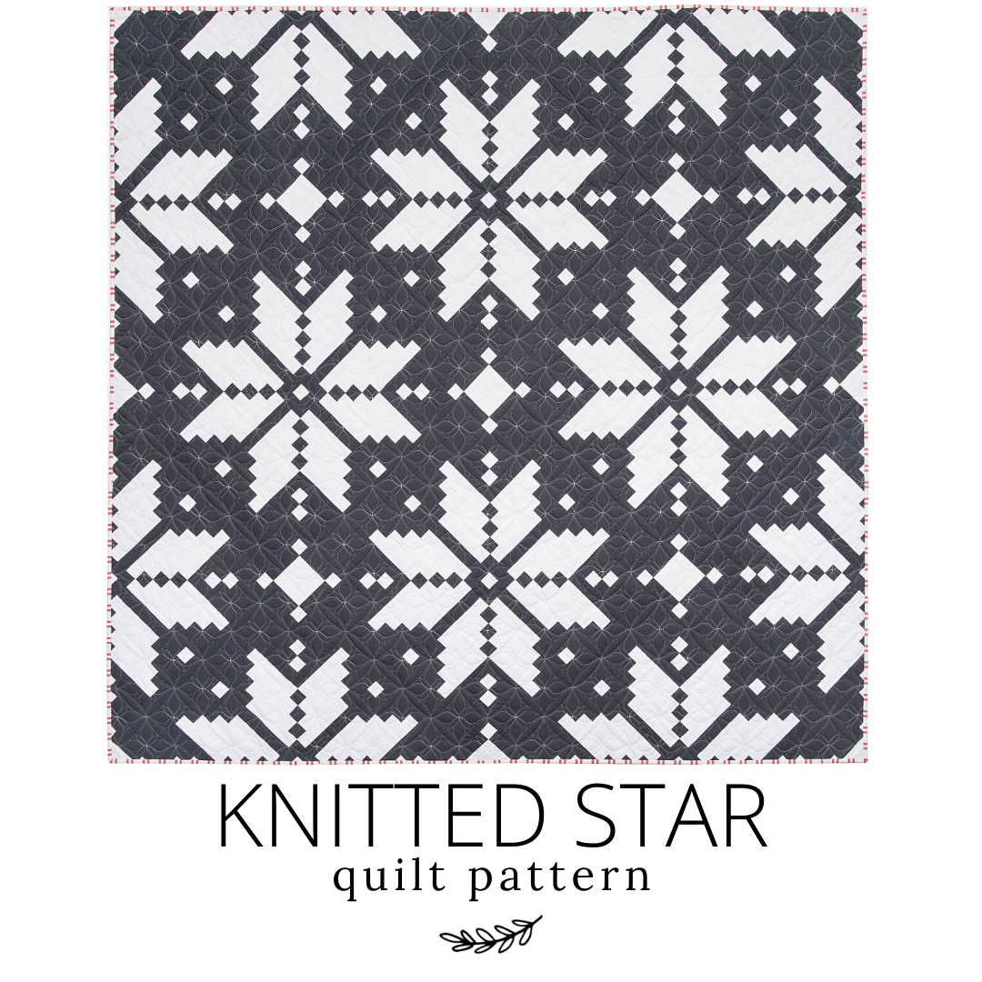 Knitted Star Quilt - Cover Quilt & Pattern details! - Lo ...