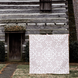 Doeskin & Snow Vintage Lace quilt top kit