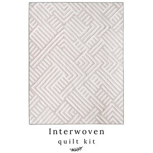 Doeskin Interwoven Quilt Kit