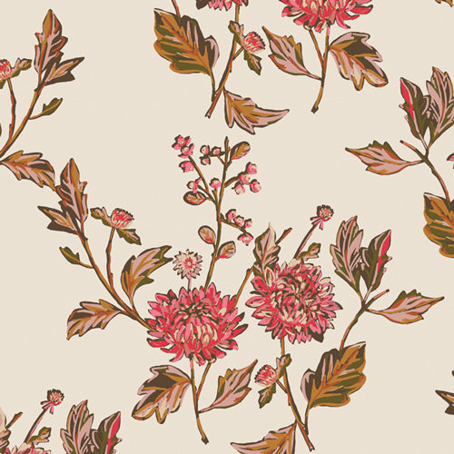 4.5 yards backing - Cut Flowers Fortune
