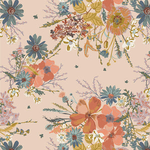 4.5 yards backing - Painted Prairie Cornucopia