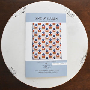 Snow Cabin- Pack of 5
