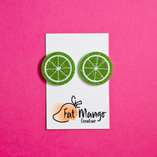 You're The Zest Lime Studs