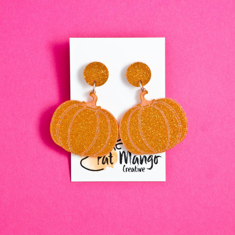 Pumpk Up The Jam Pumpkin Dangle