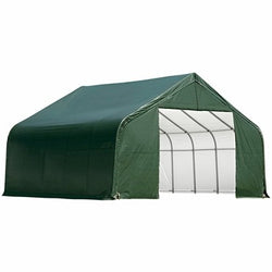 Shelterlogic 28x28x20 Peak Style Shelter with Cover - 2 Colors