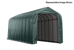 ShelterLogic Peak Frame Portable Storage Shed 15x28x12