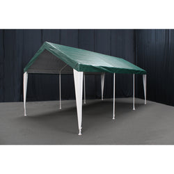 King Canopy Hercules 10 ft. W x 20 ft. D Canopy with Leg Skirts; 2 Colors Available