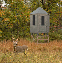 Little Cottage 6x6 Hunting Blind w/ Stand Panelized Kit