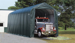 Peak Frame Portable Storage Shed 16x36x16