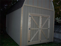 10' x 20' Barn Style Wood Shed Kit