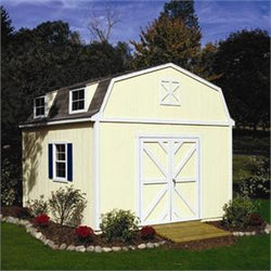 Sequoia Barn-Style Wood Storage Shed Kit - 4 Sizes