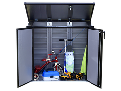 ShelterLogic Versa-Shed Electro-Galvanized Steel Storage