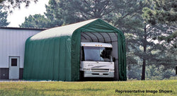 Peak Frame Portable Storage Shed 16x44x16