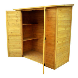 3' x 5' Elegant Wood Storage Shed