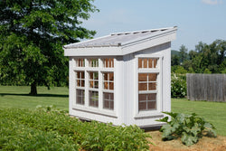 Little Cottage Petite Greenhouse Panelized  Kit w/floor