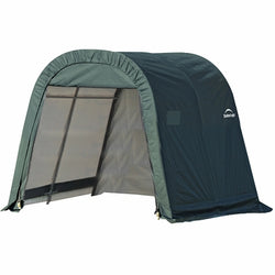 Shelterlogic 11x16x10 Round Style Shelter, Green Cover