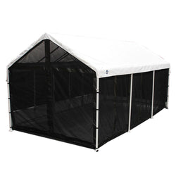 King Canopy Screen Room 10x20 Black