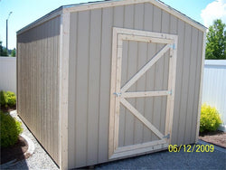 8' x 16' Gable Style Wood Shed Kit