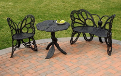 Flowerhouse Butterfly Garden Set (Chair, Table and Bench)