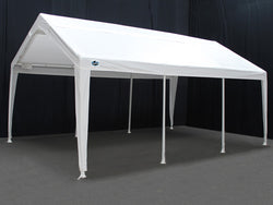 King Canopy Hercules Expandable Canopy Shelter - From 12 x 20 to 20 x 20