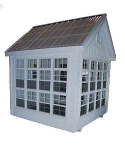 Colonial Gable Wood Greenhouse Kit (Sizes 8' x 8' and 8' x 12')