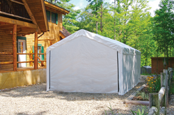 Shelterlogic Canopy Enclosure Kit for the SuperMax 10 ft. x 20 ft. (Frame and Canopy Sold Separately)